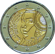 2 Euro (Festival of the Federation) -  obverse