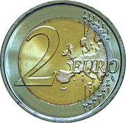 2 Euro (Festival of the Federation) -  reverse