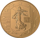 10 Euro (French Republic) – obverse