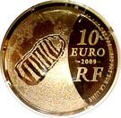 10 Euro (Astronomy) – reverse