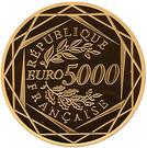 5000 Euro (Hercules) – reverse