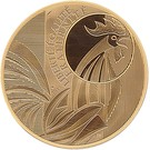5 000 Euro (Rooster; 2nd type) – obverse