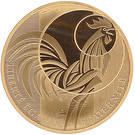 5 000 Euro (Rooster; 3rd type) – obverse