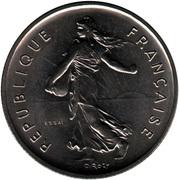 "5 Francs (signature ""O. Roty"") -  obverse"