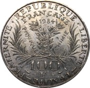 100 Francs (Marie Curie) -  obverse