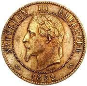 10 Centimes - Napoleon III -  obverse