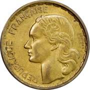 "20 Francs (signature ""GEORGES GUIRAUD"") -  obverse"