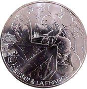 10 Euro - Mickey (Notre-Dame de Paris) -  reverse