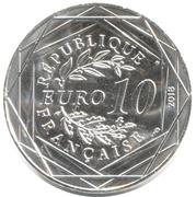 10 Euro - Mickey (Fugue à la cathédrale) -  obverse