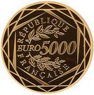5000 Euro (Marianne egality)) – reverse