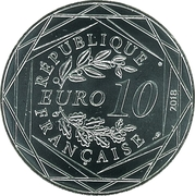 10 Euro (France Fifa world champions)