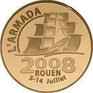 10 Euro (Rouen Armada) – obverse