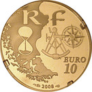 10 Euro (Rouen Armada) – reverse