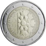 2 Euro (Bleuet de France) -  obverse