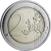 2 Euro (Bleuet de France) -  reverse