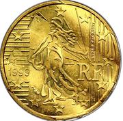 10 cents Nouvelle Semeuse - premier type -  obverse
