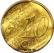 10 cents Nouvelle Semeuse - premier type -  reverse