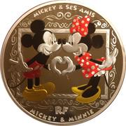 10 euros Mickey – obverse