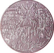 10 euros (30 years of fall of Berlin wall) – obverse