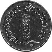 1 Centime (5th republic) -  obverse