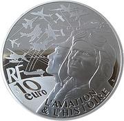 10 Euro (Transall) – reverse