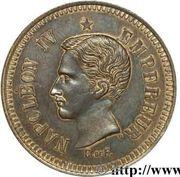 10 Centimes - Napoléon IV (pattern) -  obverse