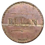 5 Centimes (pattern of Delarue, Dijon) -  obverse