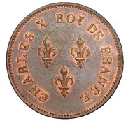 5 Franc (pattern of  virole by Moreau) – obverse
