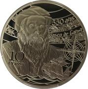10 Euro (Belém) – reverse