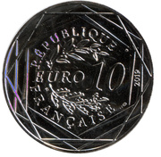 10 euros Guillaume le conquérant – obverse