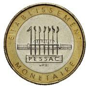 Essai de frappe de 10 francs, bimétallique (type 2) -  obverse