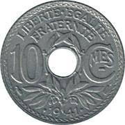 10 Centimes (Lindauer) -  reverse