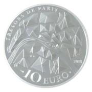 10 euros Grille de Versaille – reverse