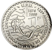 1 Franc (Cérès, timbre-poste) -  obverse