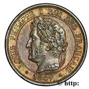 1 Centime - Louis-Philippe (patern of Barre, à la charte, 1st type) -  obverse