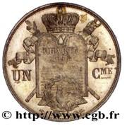 1 Centime - Louis-Philippe I (pattern of Barre, à la charte, type UN) – reverse