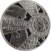 10 Euro (Reconstruction Notre-Dame de Paris) – obverse