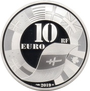10 Euro (D-Day) – obverse