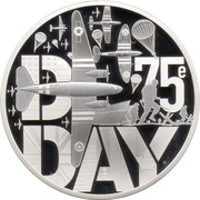 10 Euro (D-Day) – reverse