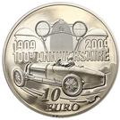 10 Euro (Ettore Bugatti) – reverse