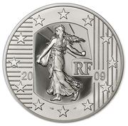 50 euros (Court of Human Rights ; silver) – obverse