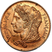 10 Centimes (pattern by Gayrard, project 1) -  obverse