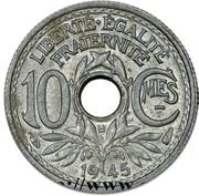10 Centimes -  obverse