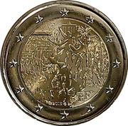 2 Euro (Berlin Wall) -  obverse