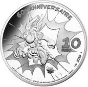 10 Euro (Idefix) -  reverse