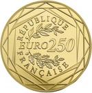 250 Euro (Marianne fraternity) – reverse