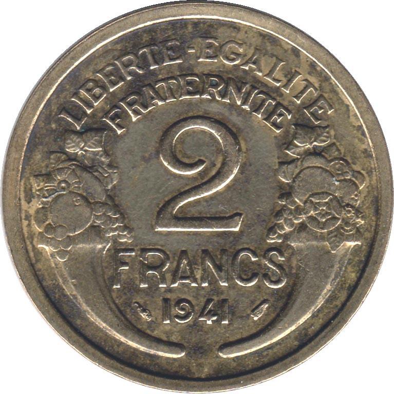 2 francs france numista. Black Bedroom Furniture Sets. Home Design Ideas