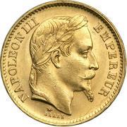 20 Francs - Napoleon III -  obverse