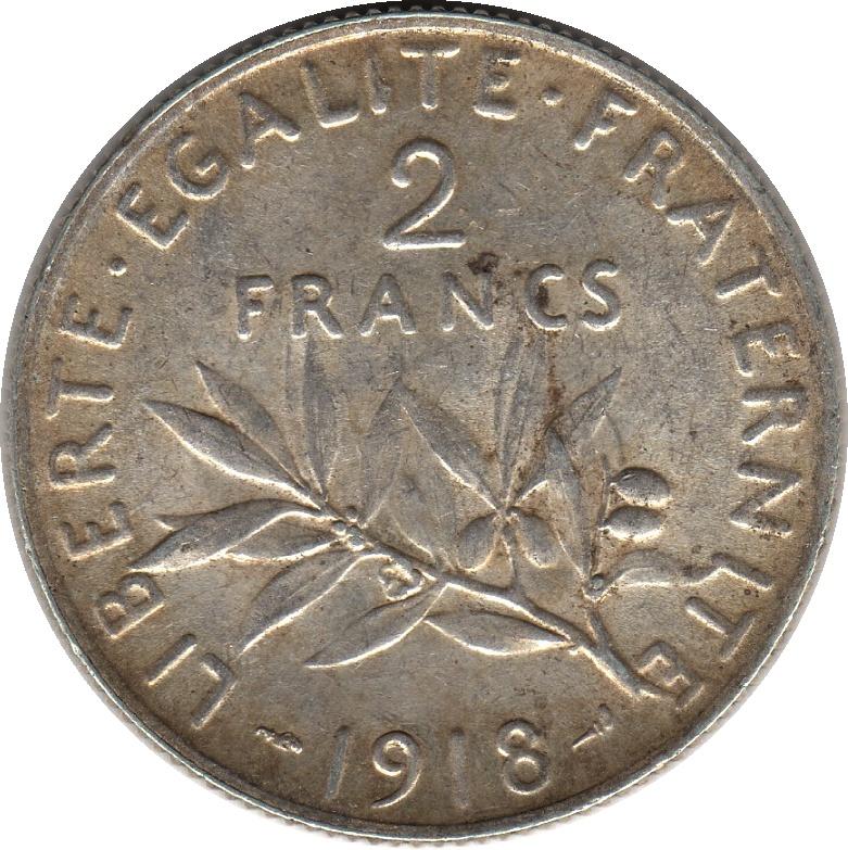 2 francs france numista for France francs