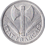 2 Francs (Vichy French State) -  obverse
